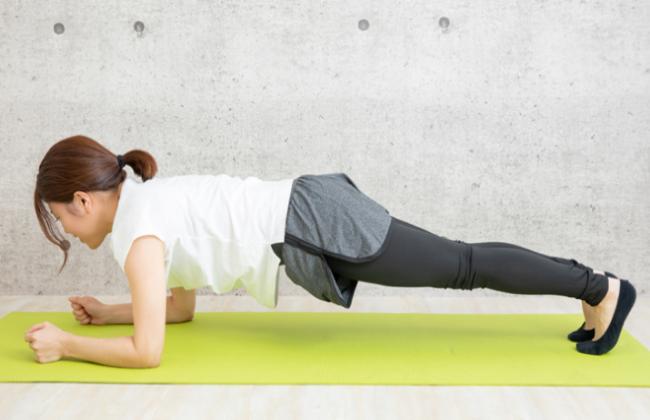 <strong>体幹を鍛えて、健康的な強い身体作りをしましょう!</strong>